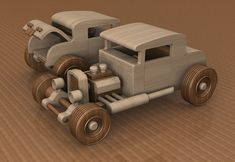Prototype Wooden Toy Car, 32 Ford Deuce Coupe, Little Deuce Coupe, Hot Rod, Race Car, Street Rod, Dragster, Speedster, Wood Toy #handmade #woodentoy #toys #cars #hotrods