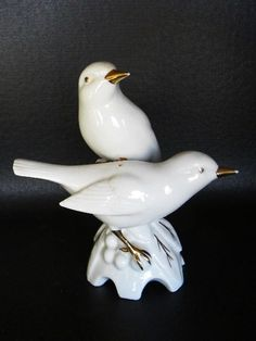 porcelain birds