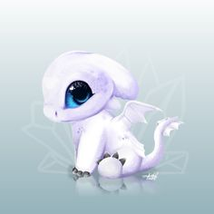 this is our light fury baby what a thing . - Look this is our light fury baby what a thing … – -Look this is our light fury baby what a thing . - Look this is our light fury baby what a thing … – - Httyd Dragons, Cute Dragons, Httyd 3, Dreamworks Dragons, Hiccup, Cute Disney Drawings, Cute Animal Drawings, How To Train Dragon, How To Train Your