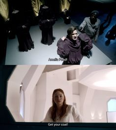 Amelia Pond, get your coat! (I love this episode and I love that line.)