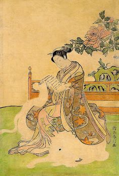 Harunobu, Suzuki (1725-1770) Elephant girl
