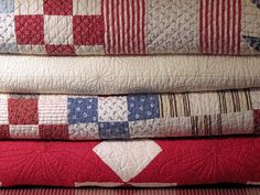 I love my quilts that were made by  Mawmaw Bishop, Mama Gertrude Musgrave, Great-Aunt Lydia Pounds, Sister Smith, Dorothy Fender, our old neighbor in Olney - Mrs. Cox and bought from estate and garage sales.