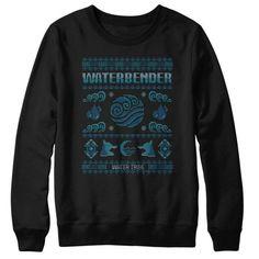 Water Tribe's Sweater - Sweatshirt Avatar the last air bender