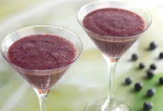 Smoothie med blåbær og agurk