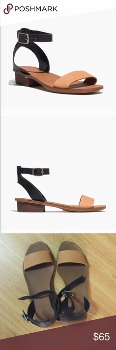 Madewell Sandals Worn a few times. Perfect for summer!! Madewell Shoes Sandals