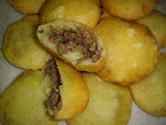 Iraqi Potato Chap/Kubba My neighbor makes these, they are yummy