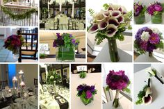 A Fern Green and Purple Wedding at Hotel Baker