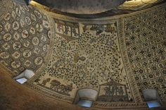 """Mosaics in Santa Costanza, a church in Rome # """"the mosaics that decorate the church's ceiling and walls, which, as 4th-century mosaics, are some of the most important early Christian art in the world"""""""