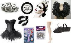 Black Swan Costume- AND YOU LITTLE LUTCHER GIRLS FEEL FREE NOTTTTTTTTTTTTTTT TO STEAL MY IDEA