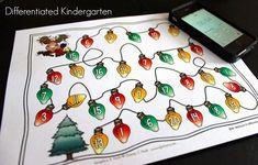 christmas math Christmas Math, Little Christmas Trees, Christmas Themes, Christmas Goodies, Christmas Decorations, 1st Grade Math, First Grade Classroom, Math Games, Math Activities