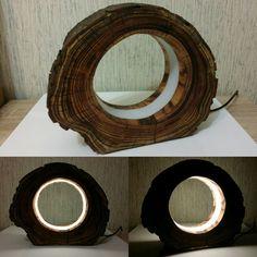 Ночник #дерево #декор #подарок #дизайн #ручнаяработа #уют #красиво #массив #спил #светильник #лампа #ночник