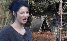 Caitriona Balfe films scenes for new American TV series Outlander