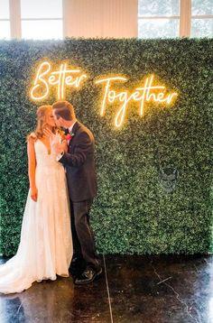 Wedding Signs, Wedding Bells, Wedding Table, Our Wedding, Dream Wedding, Wedding White, Custom Neon Signs, Led Neon Signs, Diy Neon Sign