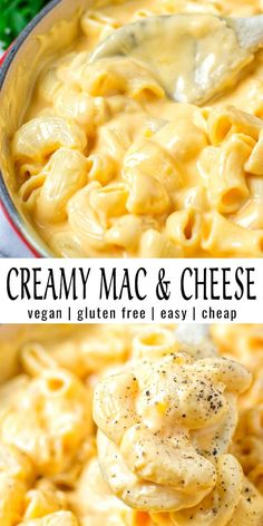 Easy and ready in 15 minutes: this Creamy Mac and Cheese is incredibly satisfying, delicious and so easy to make. Everyone will eat this, even the pickiest eaters. It tastes better than the real deal and no one would ever taste it is vegan.
