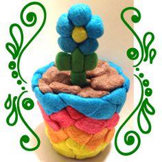 Magic Nuudles flower pots!