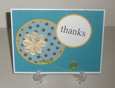 Thanks Cards by SalaamCards on Etsy, $3.50