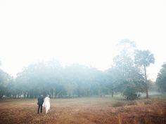 foggy wedding photos