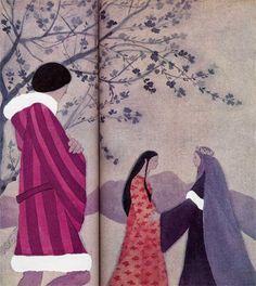 Maria Teresa Meneghini: Illustrazione per Le rose del ricordo di Carlo Felice Wolff - da: I misteriosi Quindici