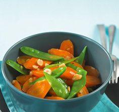 Möhren-Zuckerschoten-Gemüse - [ESSEN UND TRINKEN]