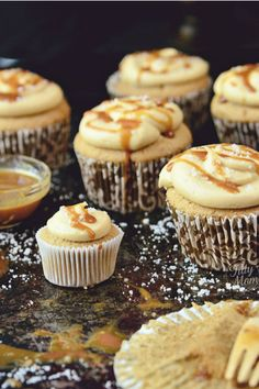 Salted Caramel Cupcakes - WomansDay.com