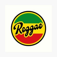 'Reggae Rasta Fari Flag Colors' Art Print by Alma-Studio Rastafari Art, Band Logo Design, Cornrow Hairstyles For Men, Rastafarian Culture, Reggae Bob Marley, Reggae Art, Bob Marley T Shirts, Jamaica Reggae, Dont Touch My Phone Wallpapers