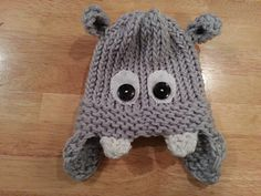 Included in the PDF: pattern for newborn, baby, toddler, and child hat.