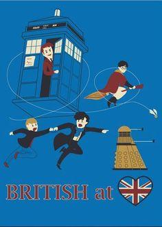 British at <3