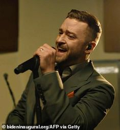 Justin Timberlake, Good Day, Memphis, Social Media, Ant, Mail Online, Daily Mail, Buen Dia