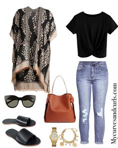 Easy, Breezy Summer kimonos | My Curves And Curls