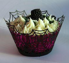 Blackberry Cupcakes <3