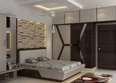 the newest bedroom furniture design catalog with modern bedroom cupboard design ideas and wooden wardrobe interior designs 2019 Wardrobe Design Bedroom, Bedroom Cupboard Designs, Bedroom Bed Design, Bedroom Cupboards, Bedroom Furniture Design, Modern Bedroom Design, Living Room Designs, Bedroom Decor, Bedroom Designs