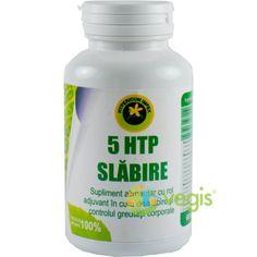 5-Htp Slabire 60 Cps 5 Htp, Metabolism, Coconut Oil, Jar, Natural, Jars, Drinkware, Vase, Au Natural