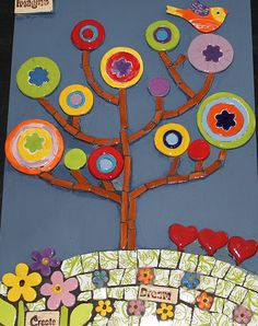 Happy Kit Range Archives - The Clay Club Tree Canvas, A4, Mosaic, Range, Symbols, Happy, Cookers, Mosaics, Ser Feliz