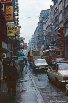 İstiklal Caddesi, 1978Hans Peter Grumpe fotoğrafı