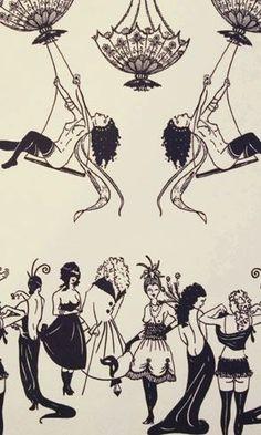 Beställ tapeten Erotica från Louise Body® (LB110-01)