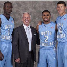Freshman players on the 2014-2015 Tar Heel Men's Basketball Team