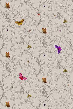 Bilderesultat for butterfly fabric