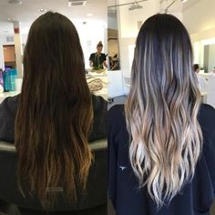 645 Likes, 16 Comments - Orange County Balayage Expert ( on Inst. 645 Likes, 16 Co Brown Hair Dyed Blonde, Brown Hair Balayage, Hair Highlights, Dyed Hair, Blonde Balayage, Brunette To Blonde Before And After, Belliage Hair, Dark To Light Hair, Surfer Girl Hair