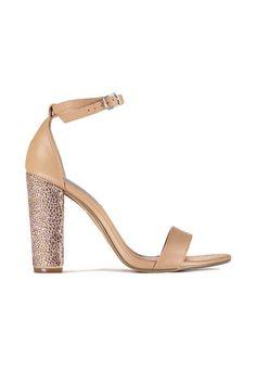 sandales a talon steve madden carrson rose poudre femme chaussures accessoires femme