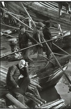 Shanghai 1948 (c). Dove l'ortogonale si è arreso al caos. Henri Cartier-Bresson, CHINA