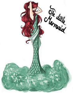 SPF - Simples Formalidade.: Ilustrações: Os vestidos das princesas Disney!