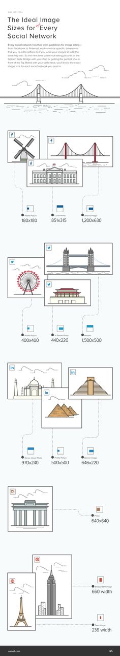 Social networks are extraordinarily fickle when it comes to image size dimensions. Since there's no standardized size for images that get posted, an image that looks perfecton Pinterest, for example, will look downright unpleasant on Twitter. Luckily we've created this handy infographic that has the exactdimensions – down to the pixel – for all of …