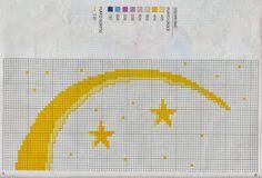Professione Donna: Schema per il punto croce: La fata del cielo