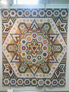 The Castle Fabric: hexagons, hexagons, hexagons