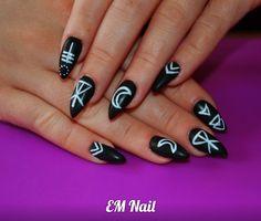 #szpony #czerń  #nail #EMnail #Żel