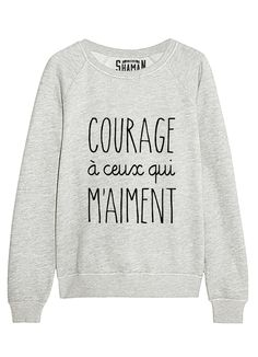 Personnalisez un sweat 😉😉😉 Loungewear Outfits, Sleepwear & Loungewear, Sleepwear Women, Sweat Shirt, Sweat Original, Funny Shirts, Tee Shirts, Casual Outfits, Cute Outfits