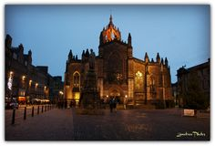 Scotland's St Giles's Cathedral in Late Afternoon © nameless 47