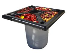 Makes enjoying crawfish a lot easier! Peel N Toss Cajun Crawfish Tables by OurCrazyDeals on Etsy, $139.59