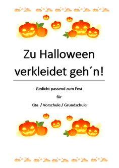 Halloween-Gedicht, in dem ein paar der typischen Kostüme kurz beschrieben werden. >>für Kita / Vorschule / Grundschule >>zum Lesen & Vorlesen >>einfache Struktur, deshalb leicht zu lesen bzw. zu lernen #halloweenkinder #halloweengedicht #halloweenlesen #halloweenkita #halloweengrundschule #halloweenschule