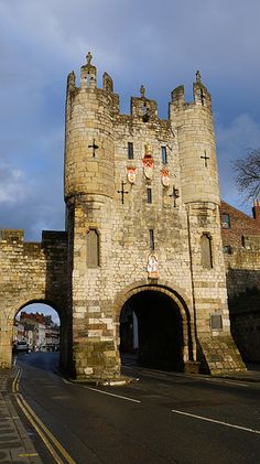 Micklegate Bar ~ York, England